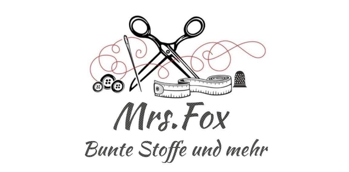 Mrs. Fox Bunte Stoffe & Kids-Logo